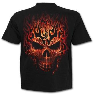 tričko pánske SPIRAL - SKULL BLAST - Black, SPIRAL