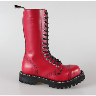 topánky STEEL -15 dierkové červené pestré (135/136 Full Red), STEEL