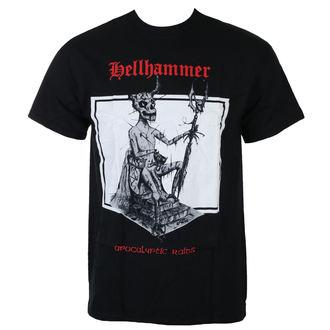 tričko pánske HELLHAMMER - RED LOGO APOCALYPTIC RAIDS - JSR, Just Say Rock, Hellhammer