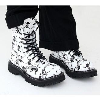 topánky STEEL - 10 - DIERKOVÉ - 105/0, STEEL