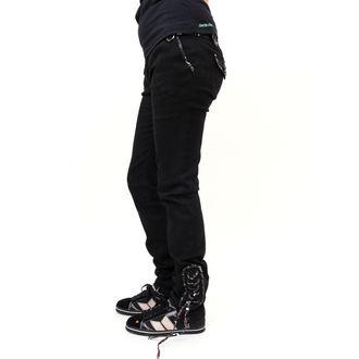 nohavice dámske bedrové EMILY THE STRANGE Feeling  Strange 2 jeans, EMILY THE STRANGE
