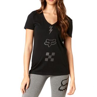 tričko dámske FOX - Transistor - Black, FOX