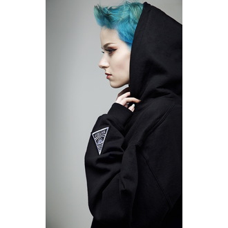 mikina (unisex) DISTURBIA - DIS - Black