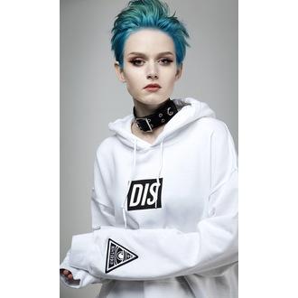 mikina (unisex) DISTURBIA - DIS - White