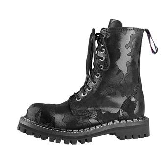 topánky STEADY´S - 10 dierkové - Black camo, STEADY´S