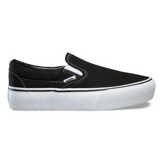 topánky dámske VANS - UA CLASSIC SLIP-ON PLATFORM Black, VANS