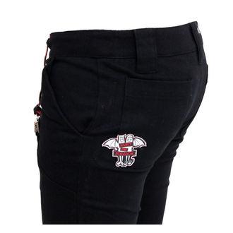 nohavice dámske EMILY THE STRANGE - Emily Mad Youth Plaid Stoveppie Jeans - E1080902