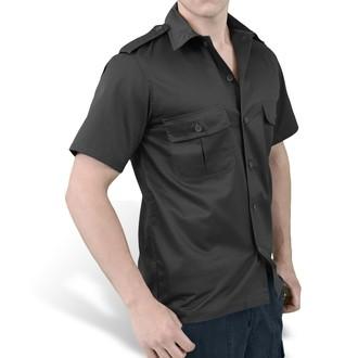 košeľa SURPLUS - US Hemd 1/2 - BLACK, SURPLUS