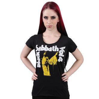 tričko dámske BLACK V SOBOTU - BLACK - AMPLIFIED, AMPLIFIED, Black Sabbath