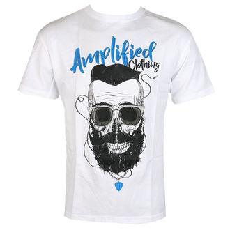 tričko pánske Bearder SKULL - AMPLIFIED, AMPLIFIED