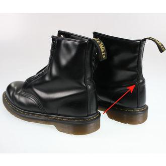 topánky Dr. Martens - 8 dierkové - Smooth Black - 1460 - POŠKODENÉ, Dr. Martens
