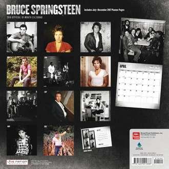 kalendár na rok 2018 BRUCE SPRINGSTEEN, Bruce Springsteen