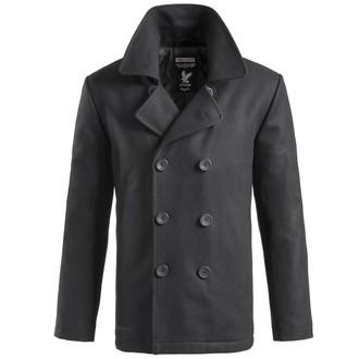 kabát pánsky SURPLUS - PEA - Black, SURPLUS