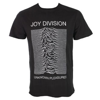 tričko pánske JOY DIVISION - UNKNOWN PLEASURES - Charcoal - AMPLIFIED, AMPLIFIED, Joy Division