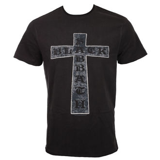 tričko pánske BLACK SABBATH - CROSS - Charcoal - AMPLIFIED, AMPLIFIED, Black Sabbath