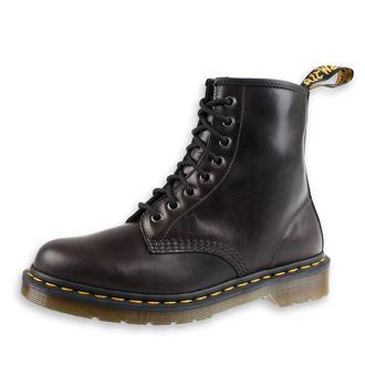 topánky Dr. Martens - 8 dierkové - 1460 Gunmetal - Orleans WP, Dr. Martens