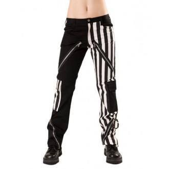 nohavice pánske Black Pistol - Freak Pants Stripe Black/White - B-1-21-319-01