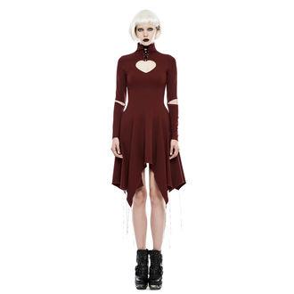 šaty damské PUNK RAVE - Dead Romance - OPQ-238 RD
