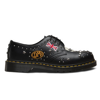 topánky Dr. Martens - 3 dierkové - 1461 Smooth - black, Dr. Martens
