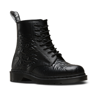 topánky Dr. Martens - 8 dierkové - Joy Division - 1460 Black - Unknown Smooth