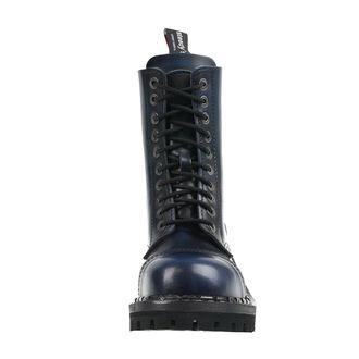 topánky STEADY´S - 10 dierkové - Blue black, STEADY´S