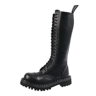 topánky STEADY´S - 20 dierkové - Black, STEADY´S