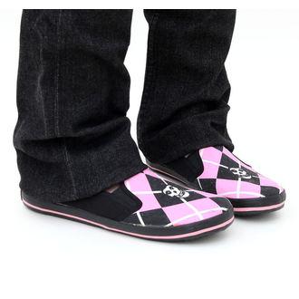 topánky dámske DRAVEN - Misfits - Fiend Argyle Slip on - MCMF 011, DRAVEN, Misfits