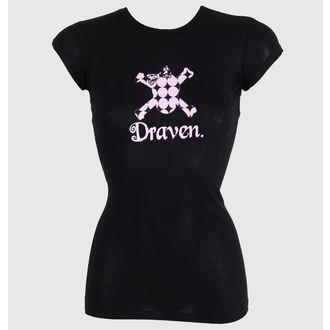 tričko dámske DRAVEN - Polkaskull, DRAVEN