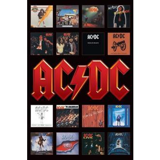 plagát - AC/DC (Album Covers) - PP30748, PYRAMID POSTERS, AC-DC