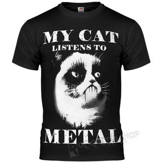 tričko pánske AMENOMEN - MY CAT LISTENS TO METAL, AMENOMEN