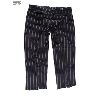 kalhoty dámské 3/4 Mode Wichtig - Zip Slacks Pin Stripe