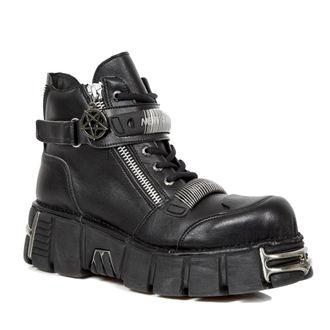 topánky NEW ROCK - VEGAN NEGRO VEGAN, VEGAN NEGRO, NEW ROCK