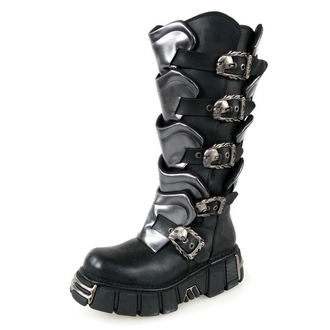 topánky NEW ROCK - Gladiator Boots (738-S1) Black-Grey, NEW ROCK