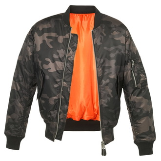 bunda pánska bomber (zimný) BRANDIT - MA1 camo