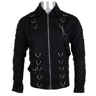 košele pánska Aderlass - Cusp Cardy Denim Black, ADERLASS