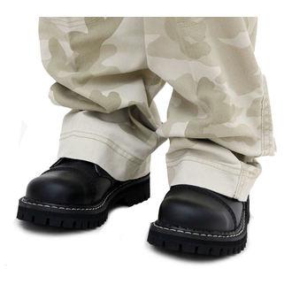 topánky STEEL - 3 dierkové čierne (101/102 Black)