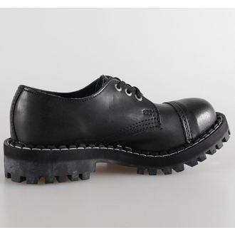 topánky STEEL - 3 dierkové čierne (101 102 Black) - metalshop.sk 411c28d16e