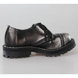 topánky STEEL - 3 dierkové šedé (101/102 White)