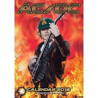 kalendár na rok 2018 AC/DC, AC-DC