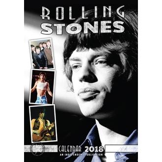 kalendár na rok 2018 ROLLING STONES, Rolling Stones