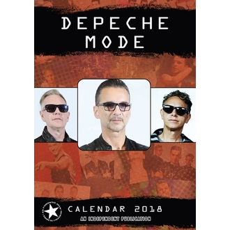 kalendár na rok 2018 DEPECHE MODE, Depeche Mode