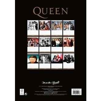 kalendár na rok 2018 QUEEN, Queen