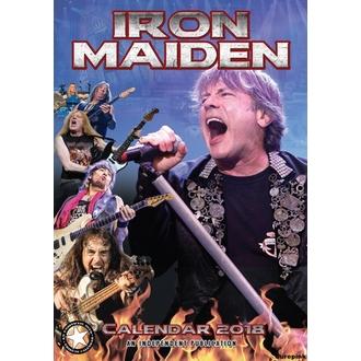 kalendár na rok 2018 IRON MAIDEN, Iron Maiden