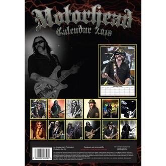 kalendár na rok 2018 Motörhead, Motörhead