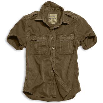 košele SURPLUS - 1/2 Vintage Shirt - HNEDÁ