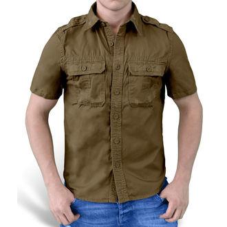 košele SURPLUS - 1/2 Vintage Shirt - HNEDÁ, SURPLUS