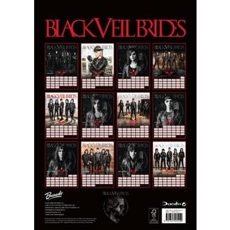 kalendár na rok 2018 BLACK VEIL BRIDES, Black Veil Brides