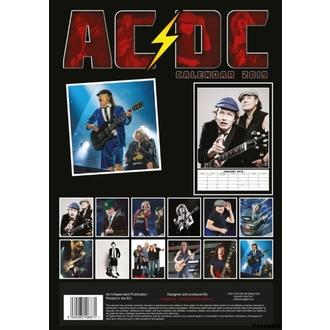 kalendár na rok 2019 - AC/DC, NNM, AC-DC