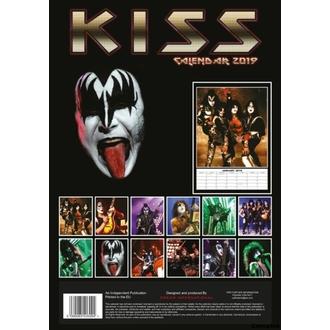 kalendár na rok 2019 - KISS, NNM, Kiss