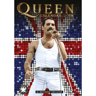 kalendár na rok 2019 - QUEEN, NNM, Queen